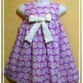 Baju Anak Perempuan Penguin Purple